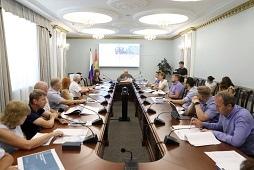 Игорь Артамонов и члены Градостроительного совета Липецка обсудили перспективную застройку областного центра