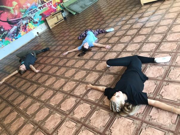 4 сентября прошел первый мастер-класс по танцевальному направлению
