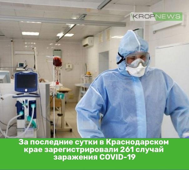 За последние сутки в Краснодарском крае зарегистри...