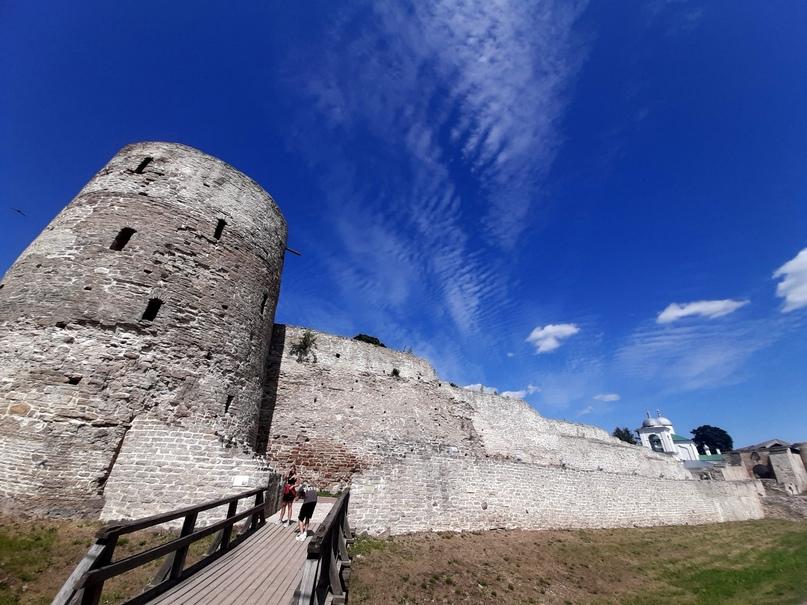 Старый Изборск. Башня Темнушка