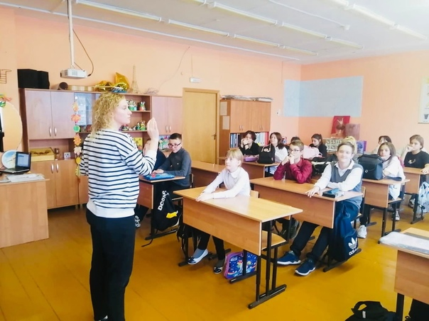 Сегодня для учащихся Павловской ООШ было проведено...
