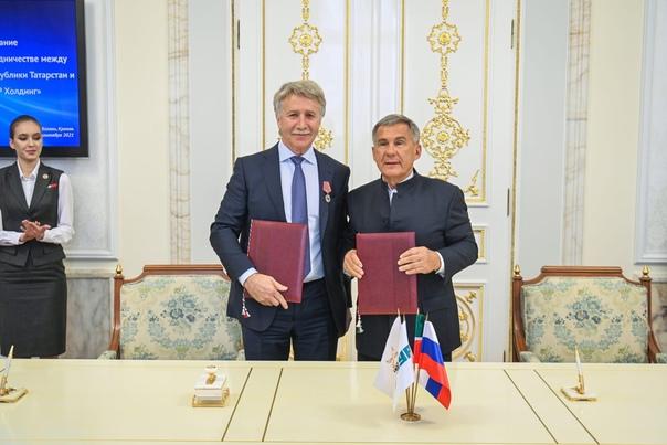 ПАО «СИБУР Холдинг» и правительство Татарстана зак...