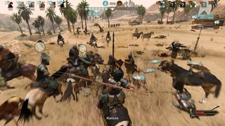 Сavalry gameplay with glaive in captain mode Mount and blade 2 Bannerlord