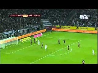 "74' Thorgan Hazard - pen   UEFA Europa League: FC ""Borussia Mönchengladbach"" - FK ""Sarajevo"" 5:0"
