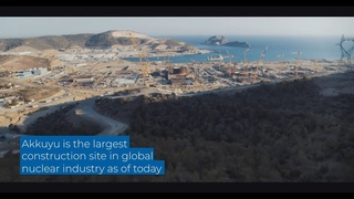 World's largest nuclear construction site at Akkuyu, Turkey with four upcoming VVER-1200 reactors