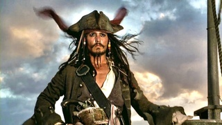 Captain Jack Sparrow - Legendary first appearance intro scene (Pirates Of The Caribbean) Full HD