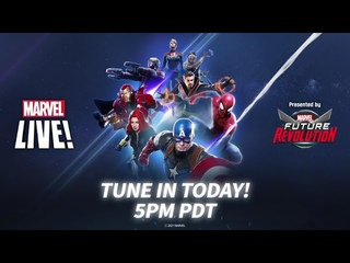 Marvel LIVE Starts in One Hour!
