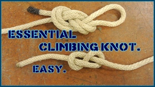 How to tie both figure eight knots (IN TWO MINUTES)