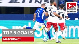 Top 5 Goals Bundesliga 2 - Terodde, Paqarada & Co.
