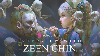 Interview with Malaysian illustrator Zeen Chin