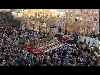 Поет весь храм!!! Пред святою твоею иконою... Молитва Почаевской Иконе Божей Матери