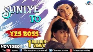Suniye To - HD VIDEO | Shah Rukh Khan & Juhi Chawla | Yes Boss | 90's Bollywood Romantic Song