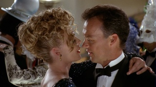 Bruce and Selina at the dance ball | Batman Returns