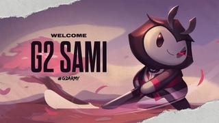 Welcome G2 Sami!