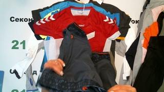 #4954 Спорт брендовый микс сток лето цена 1700 руб. за 1 кг. вес 11,9 кг/66 шт/20230 руб/306 руб